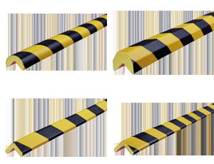 Profili antiurto per angoli